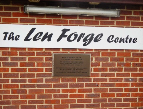 Len Forge Centre Sign